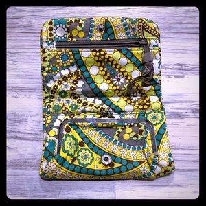 Yellow/Gray/Green Vera Bradley Wallet